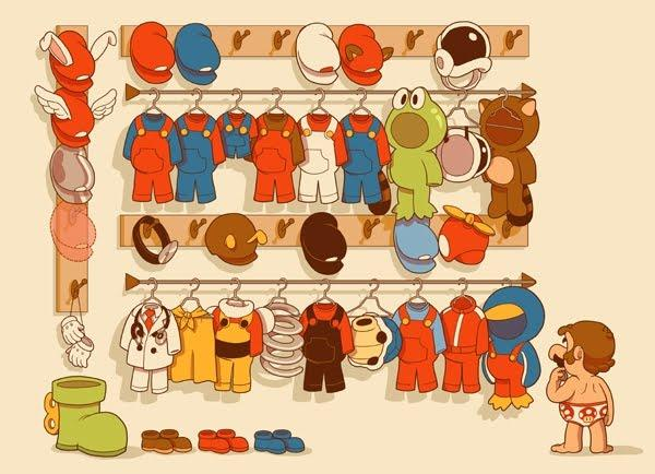 mario closet